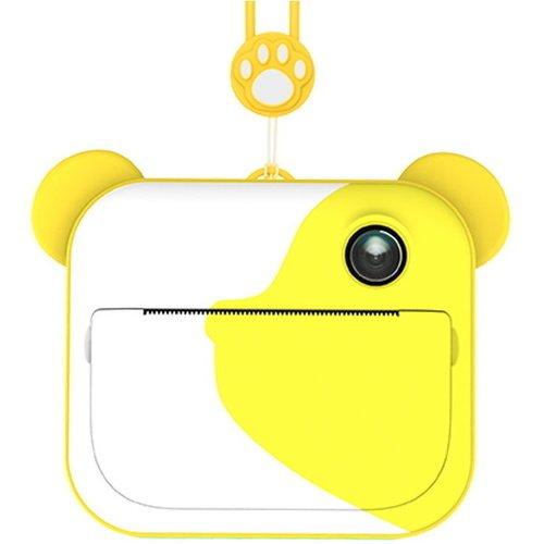 Фото - Фотоаппарат моментальной печати LUMICAM DK04 желтый фотоаппарат lumicam dk02 черный