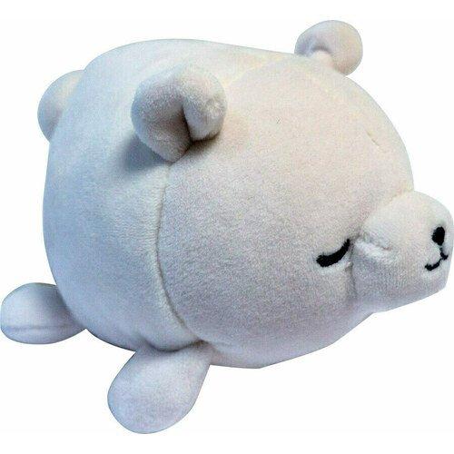 Мягкая игрушка Abtoys «Медвежонок полярный», 13 см, белая