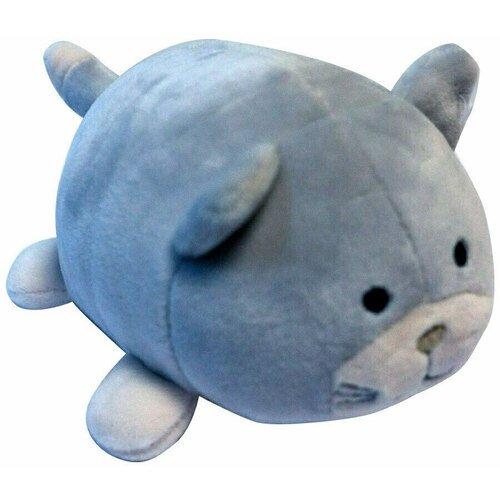 Мягкая игрушка Abtoys «Кошечка», 13 см, серая