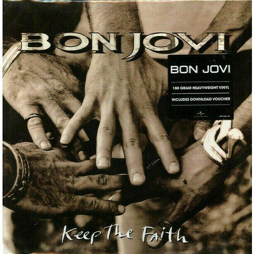 Виниловая пластинка Bon Jovi – Keep The Faith. 2 LP