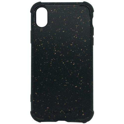 Биоразлагаемый чехол SOLOMA Case для iPhone X/XS с ударопрочными углами, темно-серый