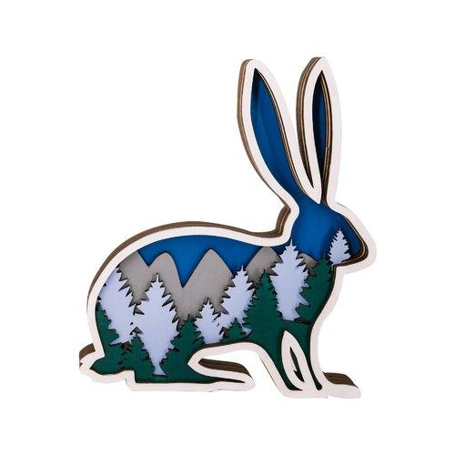 Набор для раскрашивания DOBRIKA «Лес. Заяц», 17 х 20 см