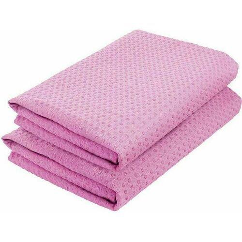 Комплект полотенец вафельных GoodNight 45x70 (2шт), розовый