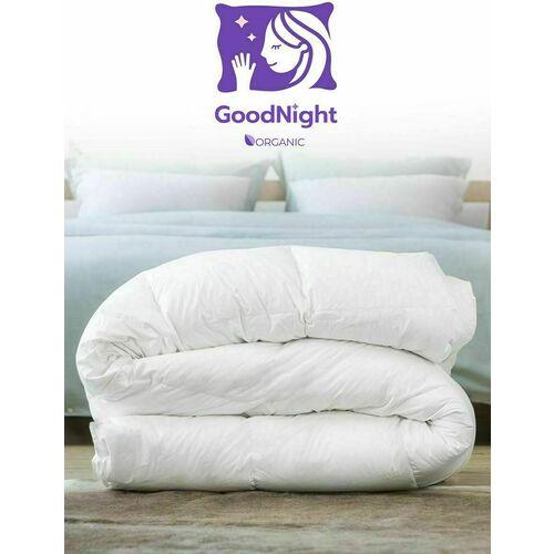 Одеяло GoodNight Organic искусcтвенный лебяжий пух/тик 300 гр/м2 1,5 сп. (140х205)
