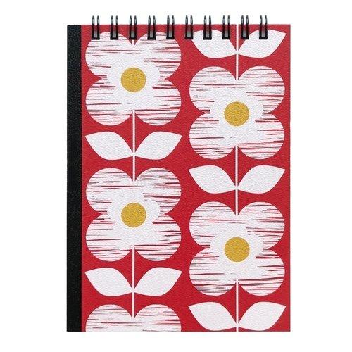 Блокнот Be Smart Pretty business, 100 листов, в клетку, 10,2 х 14,2 см, красный