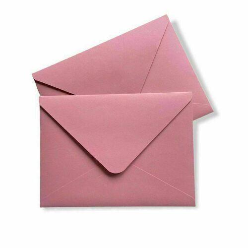 Конверт Bummagiya 13,5 х 18,5 см, нежно-розовый