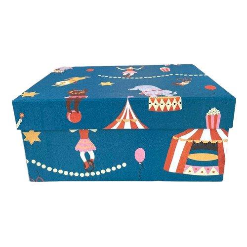 """Подарочная коробка Bummagiya """"Цирк"""", 22 х 18 х 10 см"""