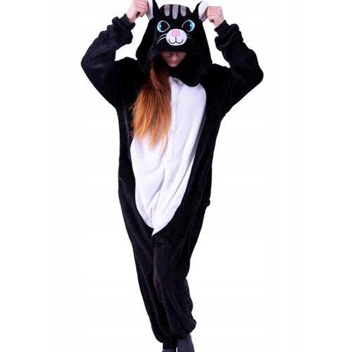 Кигуруми Funfur Fleece «Черный кот» M