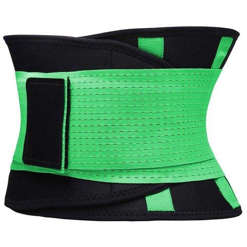 Фитнес пояс для похудения CleverCare, XXL, зеленый