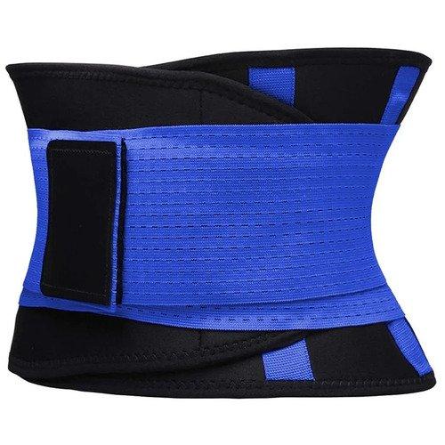 Фитнес пояс для похудения CleverCare, XXL, синий