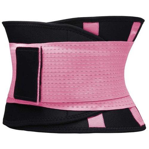 Фитнес пояс для похудения CleverCare, XXL, розовый
