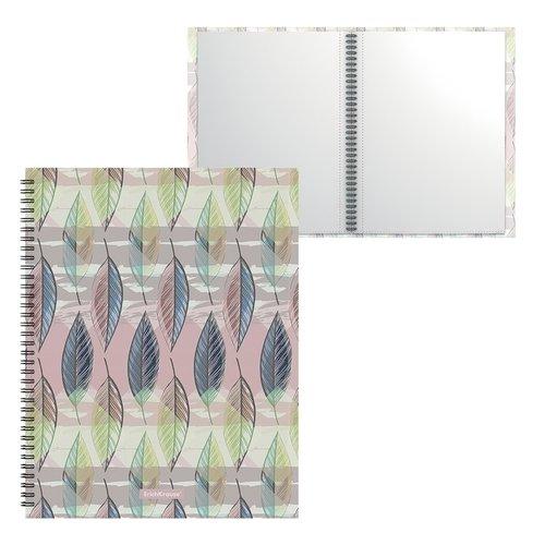 Папка файловая пластиковая на спирали ErichKrause Flora, с 20 прозрачными карманами, A4