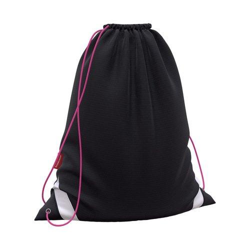 Мешок для обуви ErichKrause Black&Pink, 36,5 x 44 см