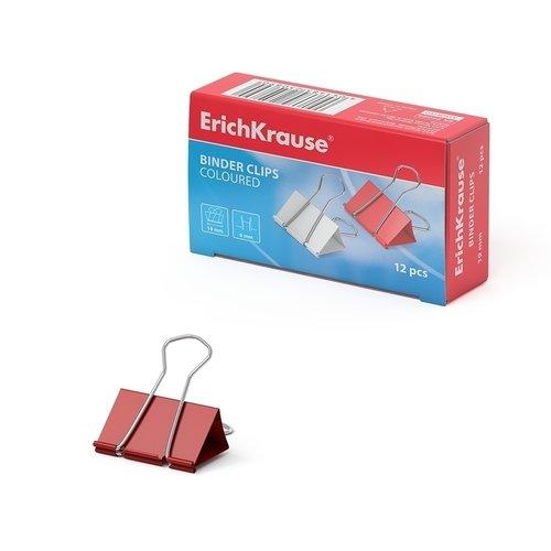 Зажимы для бумаг ErichKrause, 19 мм