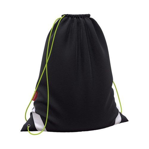 Мешок для обуви ErichKrause Black&Yellow, 36,5 x 44 см