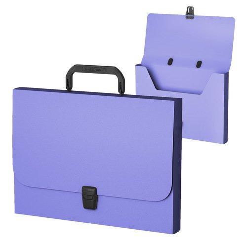 Портфель пластиковый ErichKrause Matt Pastel, FC, фиолетовый