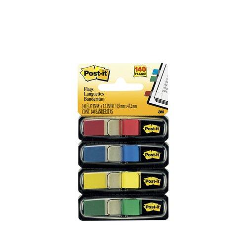"""Клейкие закладки """"Post-it"""", 4 цвета"""