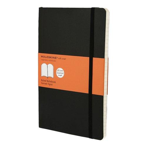 Блокнот Classic Soft Ruled Large, 96 листов, в линейку, черный феникс записная книжка жизнь в цитатах фаина раневская в линейку 96 листов