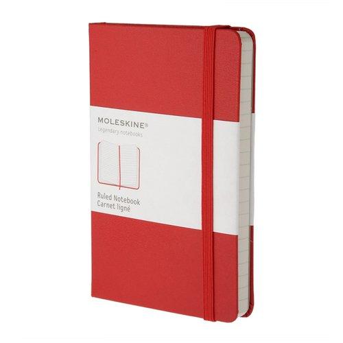 Блокнот Classic Ruled Pocket, 96 листов, в линейку, красный феникс записная книжка жизнь в цитатах фаина раневская в линейку 96 листов