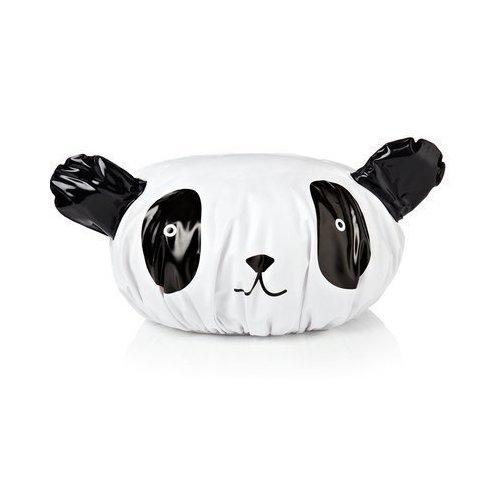 Шапочка для душа в виде панды.
