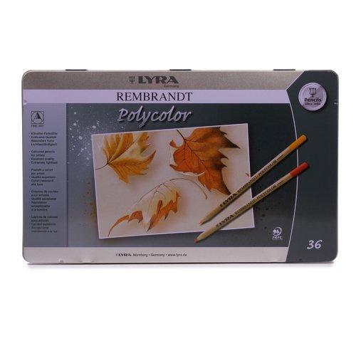 Набор карандашей Rembrandt Polycolorl, 36 цветов lyra профессиональные художественные карандаши polycolor 12 цветов