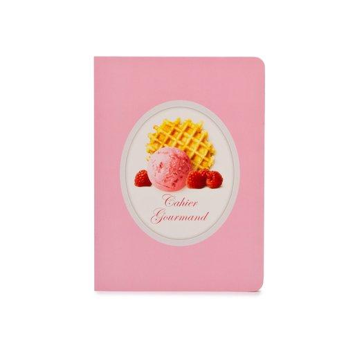 Тетрадь Мороженое и бисквит А5, в линейку, розовая bg тетрадь отличная 12 листов в косую линейку цвет зеленый 15085