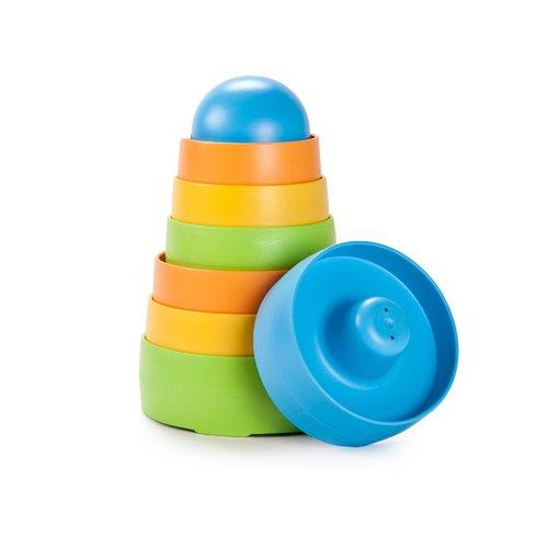 Пирамидка, 18,5 см toys pure пирамидка башня 3 в 1 goki