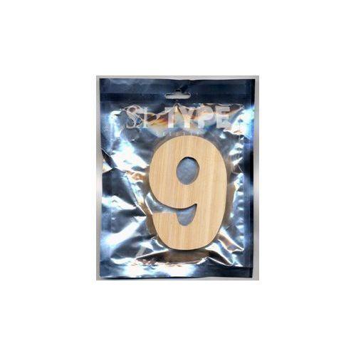 """Деревянная цифра """"9"""""""