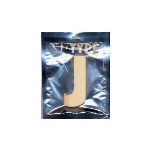 """Деревянная буква """"J"""""""
