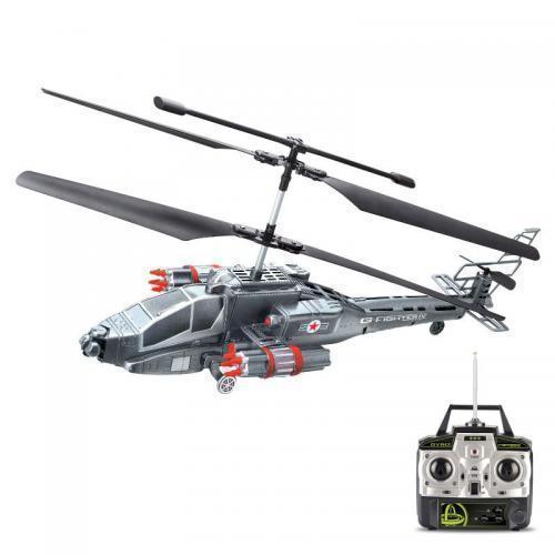 Фото - Радиоуправляемый вертолет Fighter 4 игрушка 1toy gyro 109 вертолет с гироскопом т52819