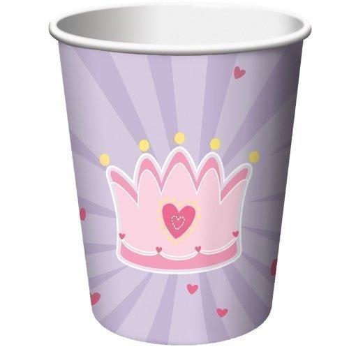 Набор стаканов Princess, 8 шт. набор одноразовых стаканов buffet biсolor цвет оранжевый желтый 200 мл 6 шт