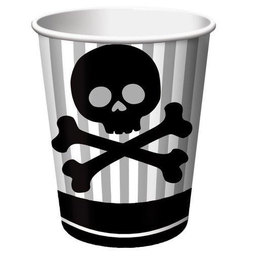 Набор стаканов Pirate Parrty, 8 шт.