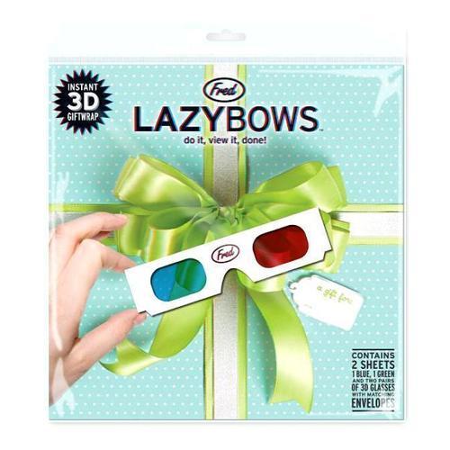 Набор 3D очки и подарочная упаковка Lazy Bows видео очки excelvan 52 3d tf 128753701