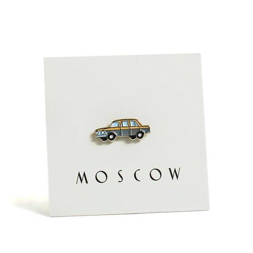 """Значок металлический """"Москвич"""""""