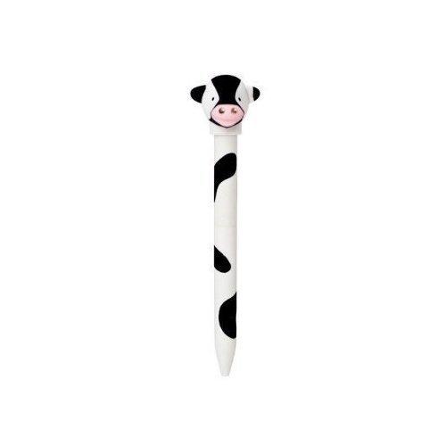 Ручка шариковая Cow, белая фигурки героев мультфильмов moose treasure x золото драконов 41507