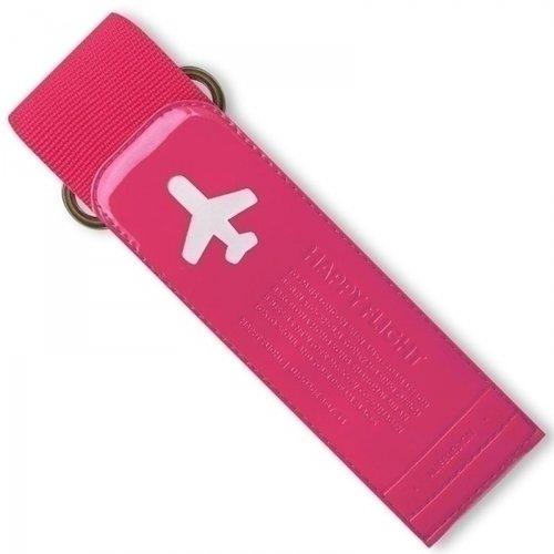 "Ремень для багажа ""Happy Flight Luggage Belt"", розовый"