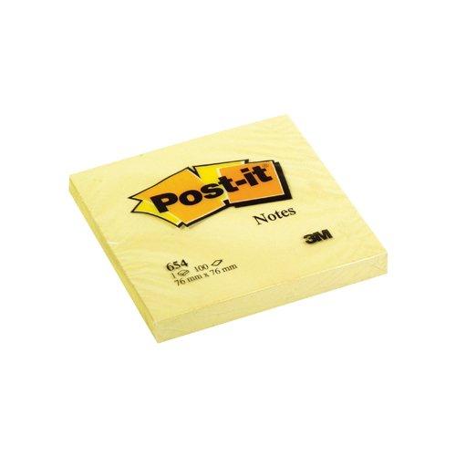 Блок-кубик для заметок желтый блок стикеров для заметок