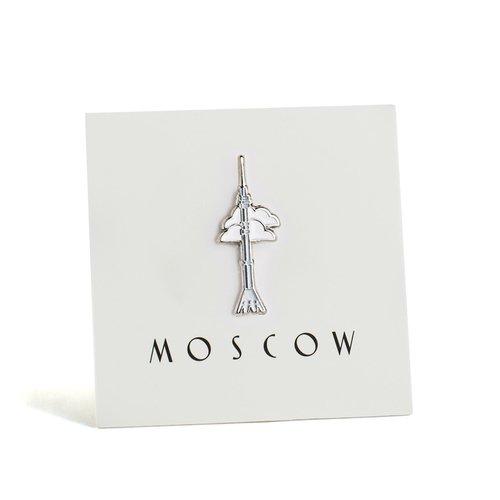 """Значок """"Останкинская башня"""""""
