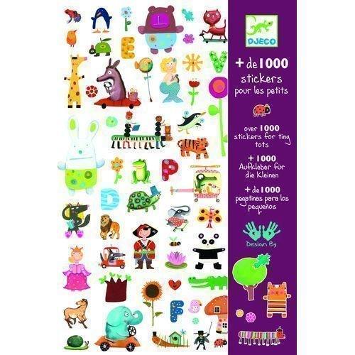 """Набор """"1000 наклеек для малышей"""", 21 х 31 см"""