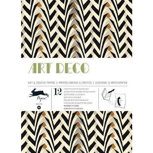 цена на Gift Wrapping Paper Book. Art Deco