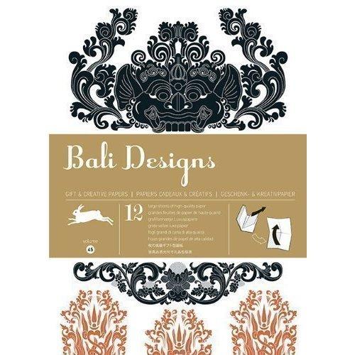 цена на Gift Wrapping Paper Book. Bali Designs