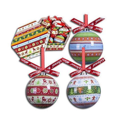 Фото - Набор шаров Папье-маше, 7,5 см, 7 шт. набор елочных шаров магия праздника ny032 красно белый диаметр 6 см 12 шт