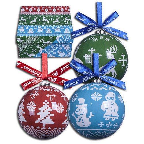 Набор шаров Папье-маше, 7,5 см, 14 шт. украшение новогоднее подвесное mister christmas папье маше диаметр 7 5 см pm 15 1t
