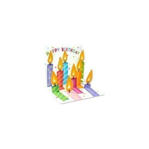 Открытка Праздничные свечки открытка printio открытка к 8 марта