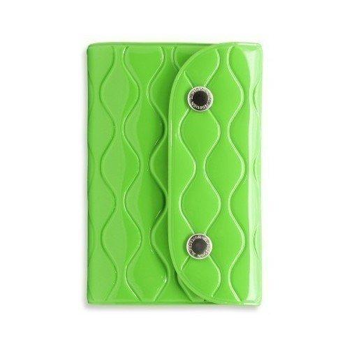 Визитница на кнопке NW Card Wallet, зеленая 2018 men long wallet zipper id credit card holder bifold purse top brand clutch wallet pockets promotion gift