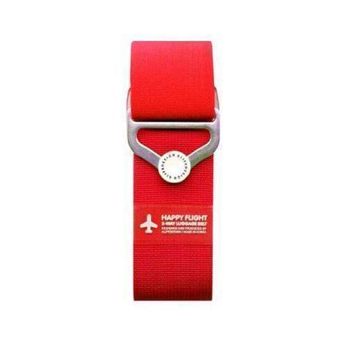 """Ремень для багажа на кнопке """"HF 2-Way Luggage Belt"""", красный"""