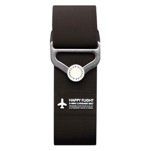 """Ремень для багажа на кнопке """"HF 2-Way Luggage Belt"""", черный"""