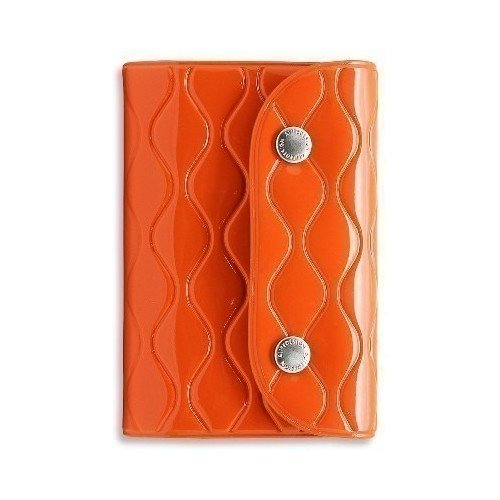 Визитница на кнопке NW Card Wallet, оранжевая 2018 men long wallet zipper id credit card holder bifold purse top brand clutch wallet pockets promotion gift