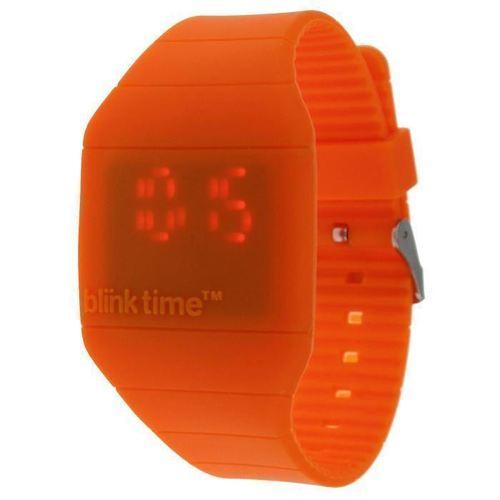 Часы наручные оранжевые Blink Time blink contacts lubricant eye drops 10 ml 3 pack