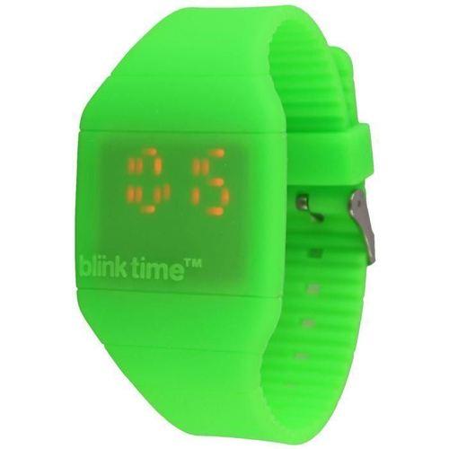 Часы наручные Blink Time, зеленые blink contacts lubricant eye drops 10 ml 3 pack